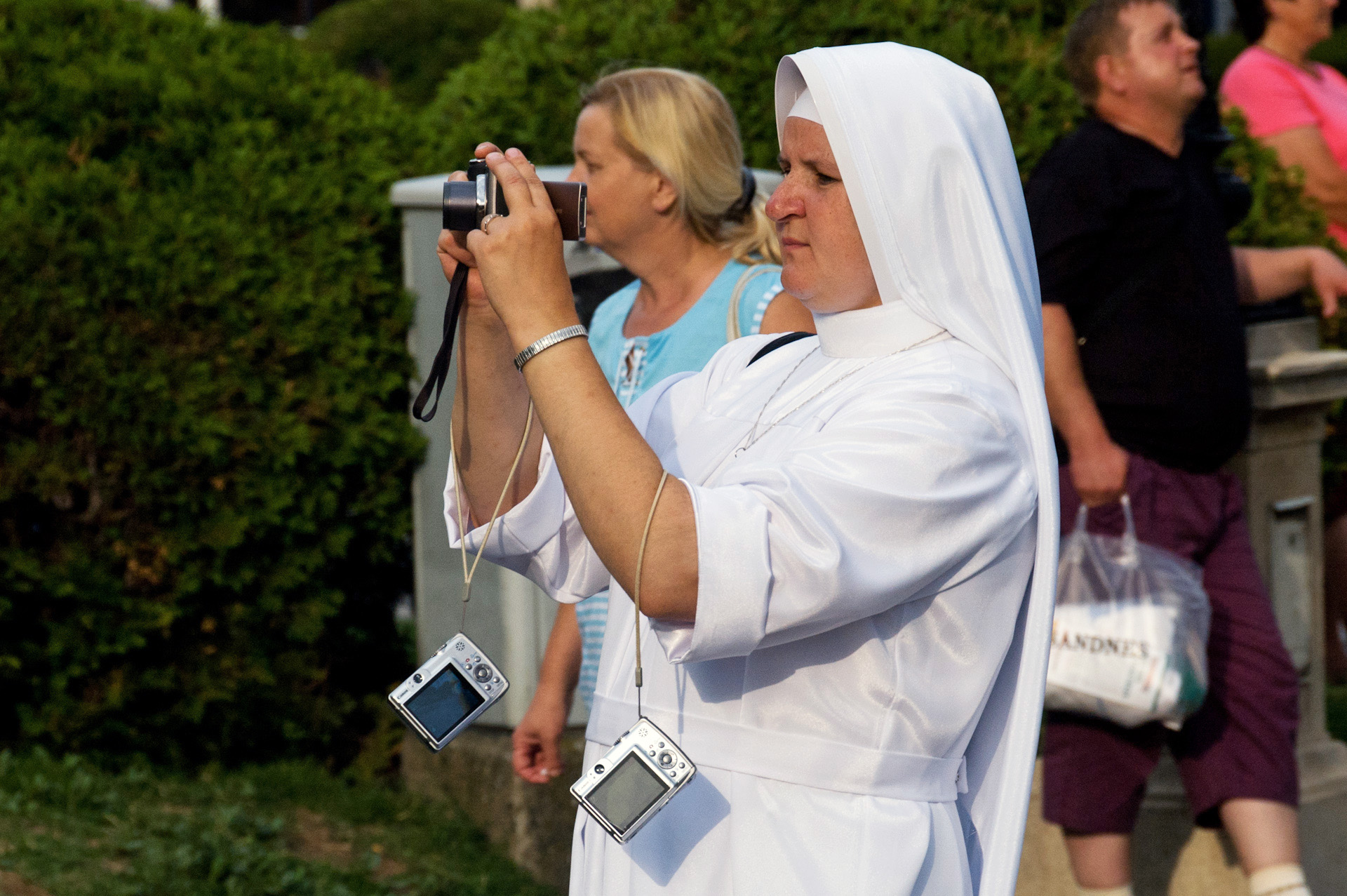 Un rosario de cámaras
