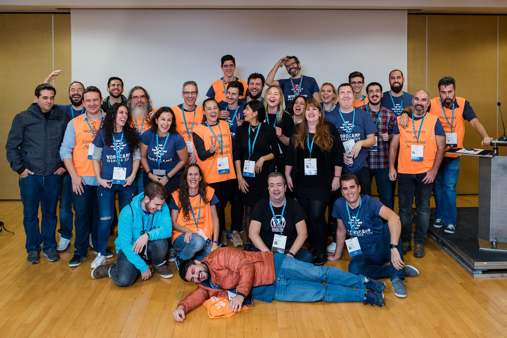 Voluntarios WCGranada 2018